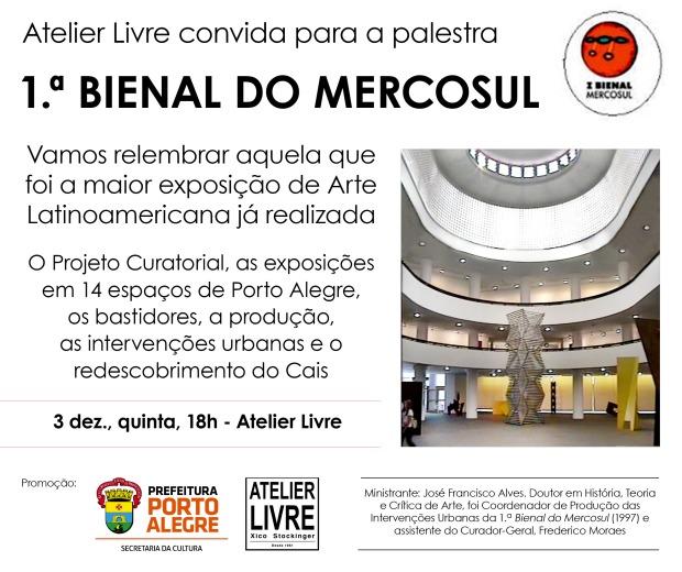 flyer I Bienal do Mercosul